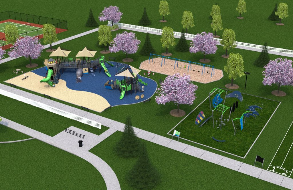 COMING SOON - Millville's first park!